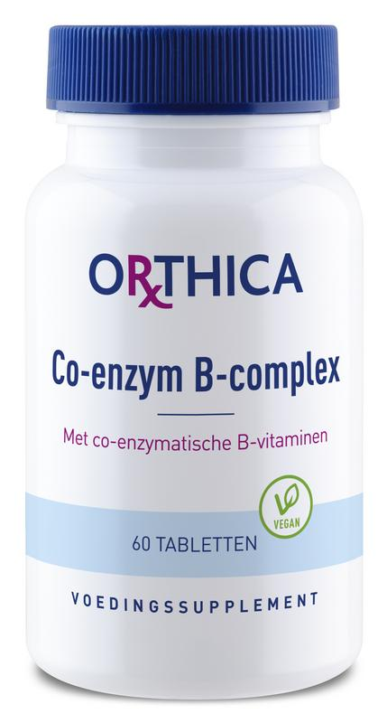 Co-enzym B complex 60 tabletten Orthica