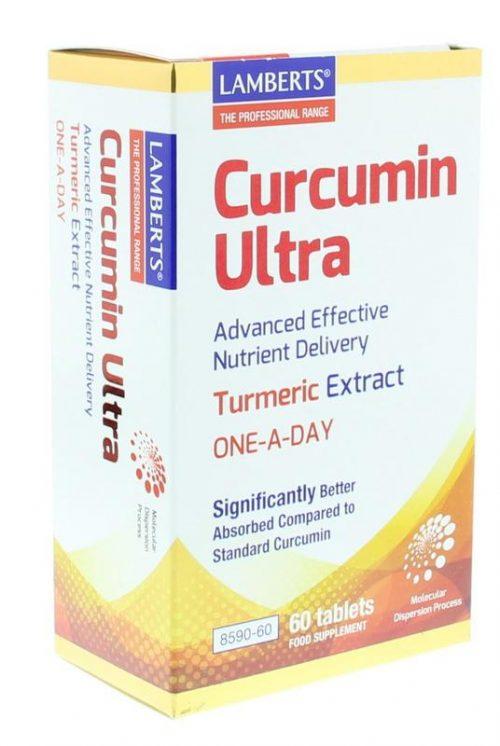 Curcumine ultra 100 mg - kurkuma 60 tabletten Lamberts