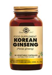 Ginseng Korean 50 stuks Solgar