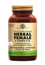 Herbal Female Complex 50 stuks Solgar