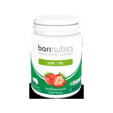 IJzer aardbei 90 tabletten Barinutrics