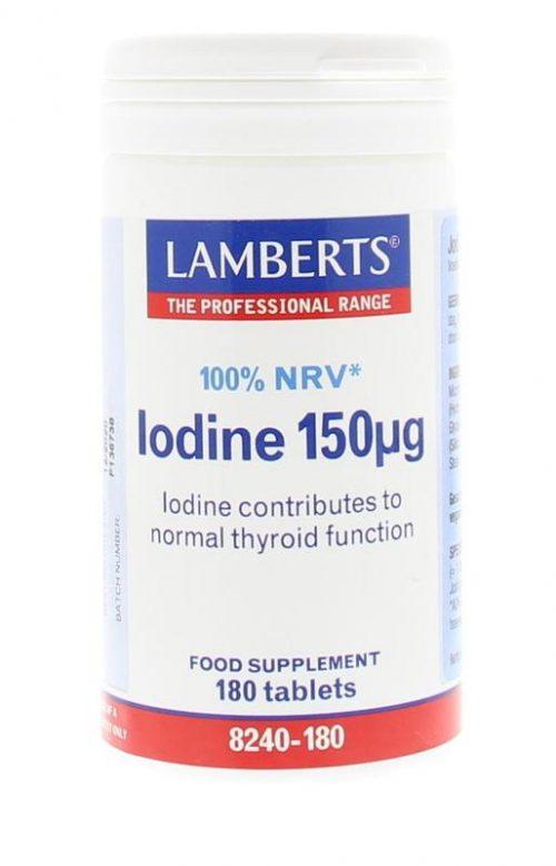 Jodium 150 mcg 180 tabletten Lamberts