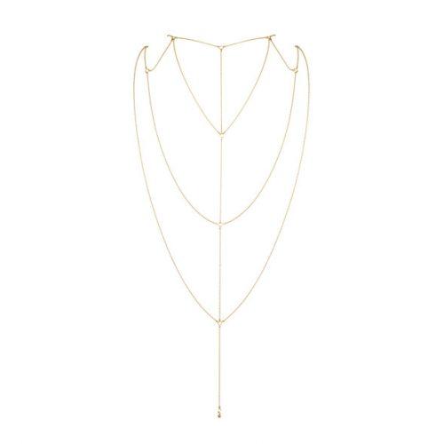 Magnifique Rug & Decolette ketting goud 1 stuk Bijoux indiscrets