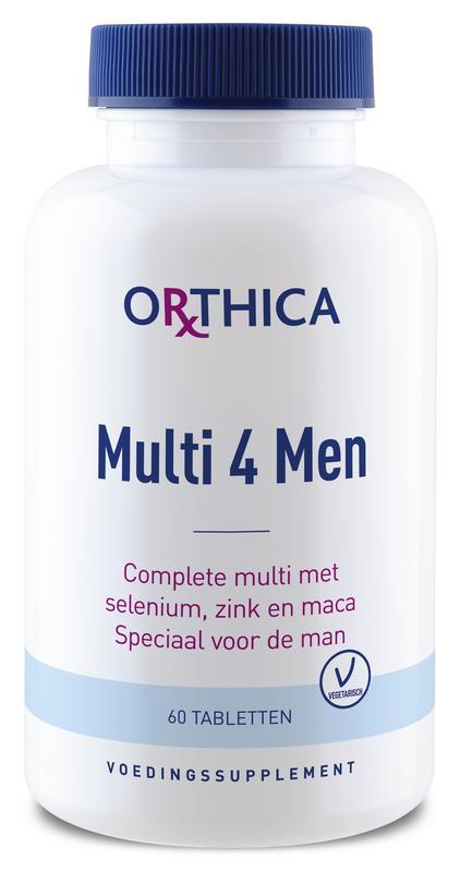 Multi 4 men 60 tabletten Orthica