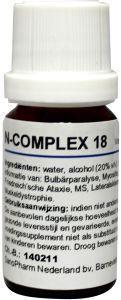 N Complex 18 myositis 10 ml Nosoden