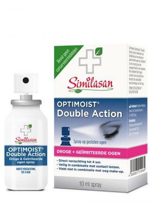 Optimoist 2 in 1 spray droge ogen spray 10 ml Similasan