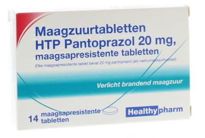 Pantoprazol 20 mg 14 stuks Healthypharm