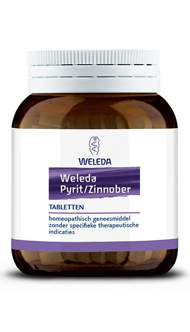 Pyriet zinnober 200 tabletten Weleda