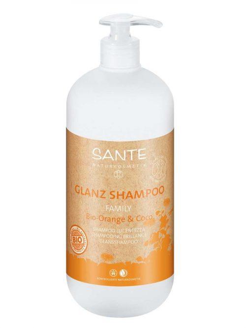 Family bio sinaasappel kokos shampoo BDIH 500 ml Sante