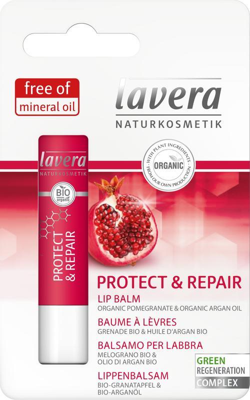 Lippenbalsem/lip balm protect & repair 4.5g Lavera