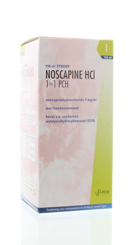 Noscapine siroop HCL 150 ml Pharmachemie