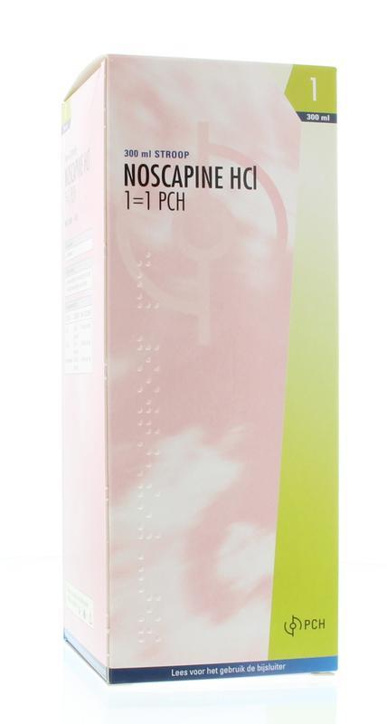 Noscapine siroop HCL 300 ml Pharmachemie