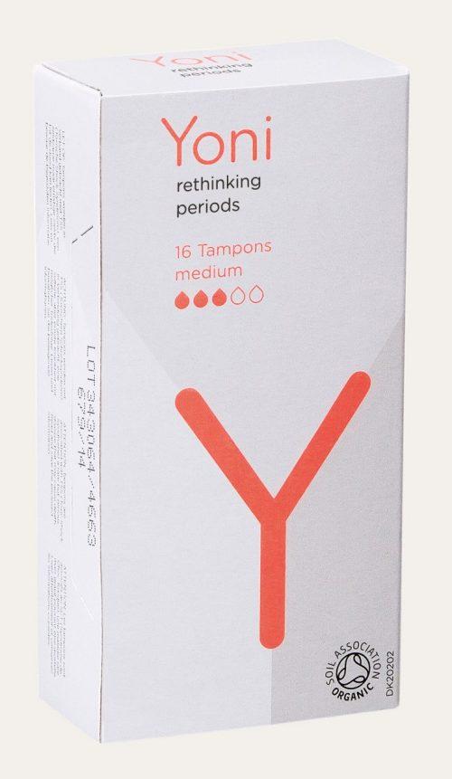 Tampons medium 16 stuks Yoni