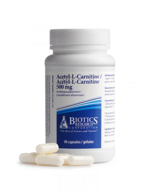 Acetyl L Carnitine 90 capsules Biotics