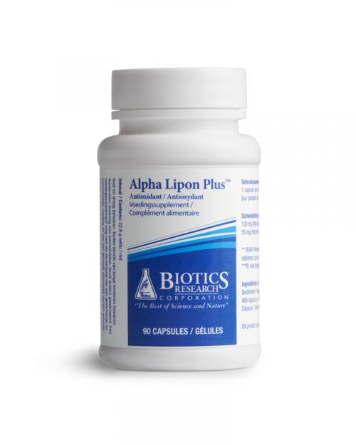 Alpha lipon plus 90 capsules Biotics