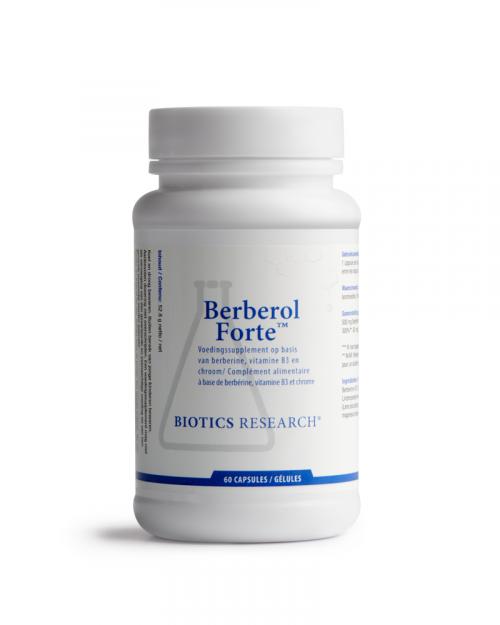 Berberol forte 60 capsules Biotics