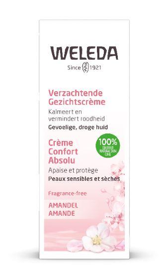 Amandel verzachtende gezichtscrème 30 ml Weleda