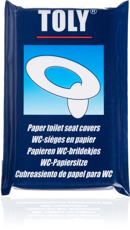 WC-brildekjes 10 stuks Toly