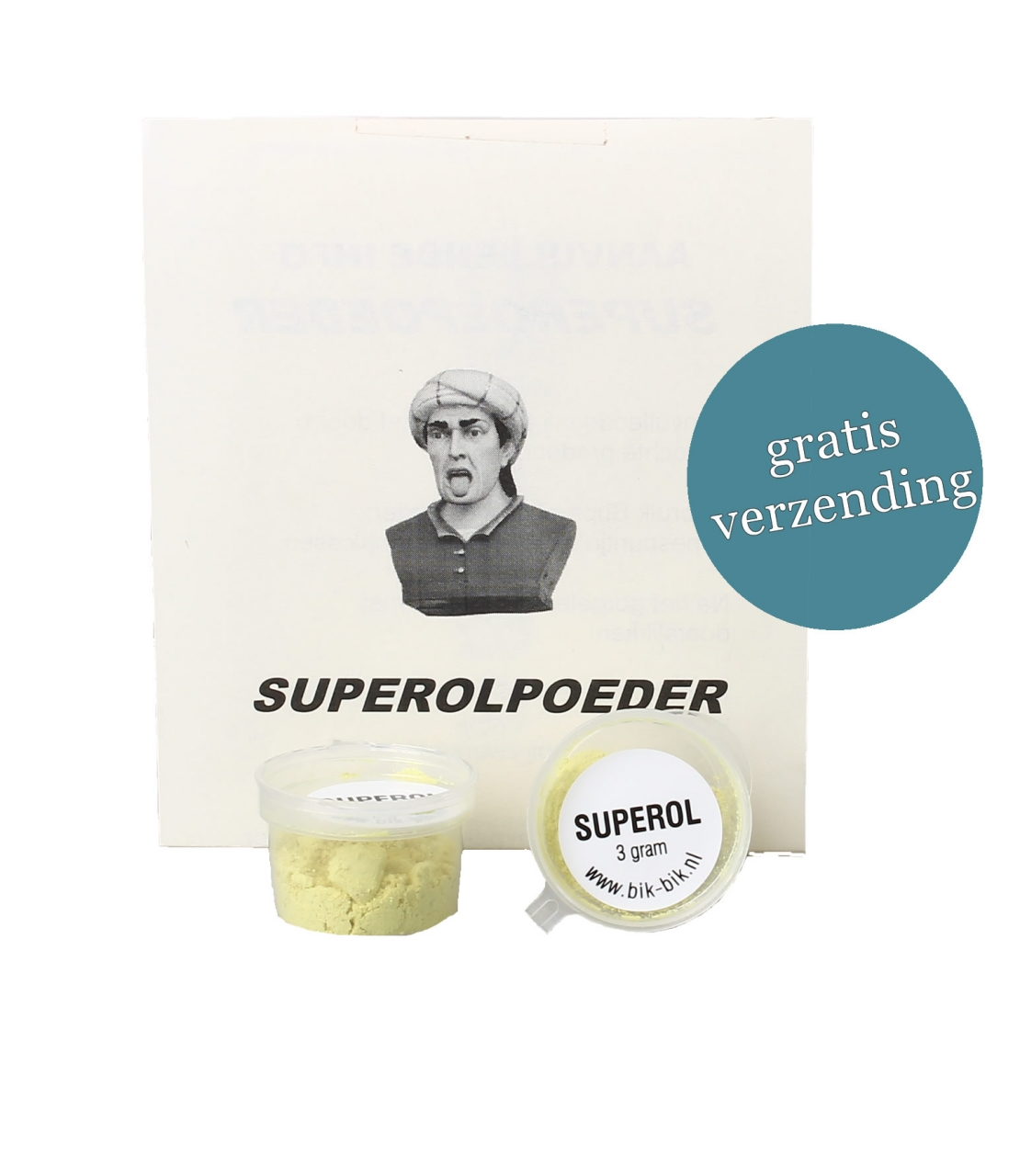 Superol gorgelpoeder® potje 3 gram